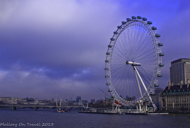 The London Eye and the River Thames from the Westminster Bridge in London, Great Britain on Mallory on Travel, adventure, adventure travel, photography Iain Mallory-300-63 london-eye