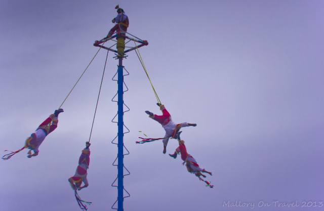 The Papantla Flyers at Tulum in Riviera Maya, Mexico on Mallory on Travel, adventure, adventure travel, photography Iain Mallory-300-64 papantla_flyers
