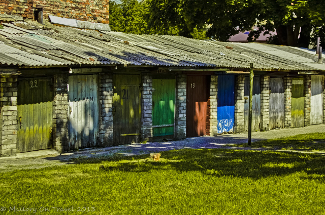 Colourful shed doors in Liepāja in the Baltic state of Latvia on Mallory on Travel, adventure, adventure travel, photography Iain Mallory-300-60 liepaja_latvia