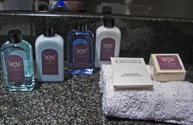 Room toiletries in the Cameron House hotel, Loch Lomond in Glasgow, Scotland on Mallory on Travel, adventure, adventure travel, photography Iain Mallory-300 toiletries