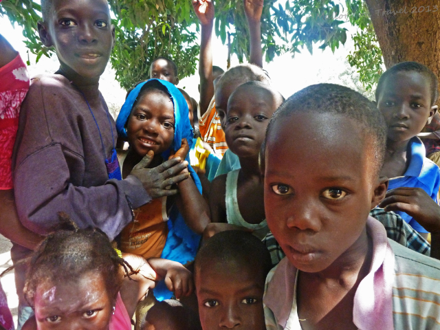 Children of the Jola village of Kanuma in The Gambia, west Africa on Mallory on Travel, adventure, adventure travel, photography Iain Mallory-1560