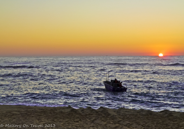 Sunrise at Park Rynie over the Aliwhal Shoal in the Indian Ocean near Durban in the KwaZulu-Natal region of South Africa on Mallory on Travel, adventure, adventure travel, photography Iain Mallory-300-2