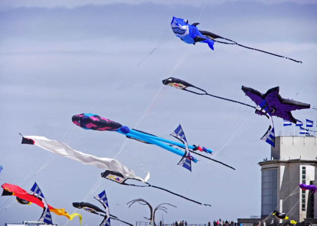 The Kite Festival at Ostend in Belgium on Mallory on Travel, adventure, adventure travel, photography glorious kites