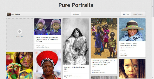 Pure Portraits by Pinterest board from Iain Mallory part of the Pin It Forward UK campaign on Mallory on Travel, adventure, adventure travel, photography