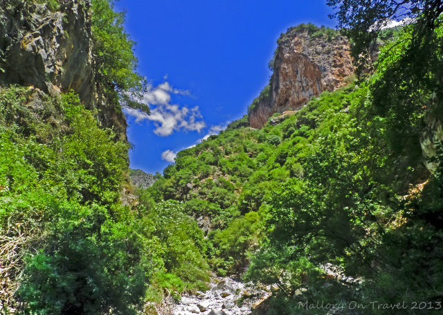 The Viros Gorge near Kardamili in the Peloponnese, Greece on Mallory on Travel adventure, adventure travel, photography Iain Mallory-300-11