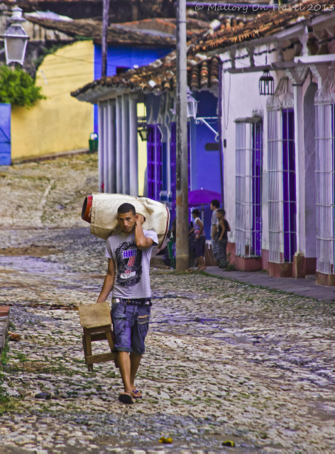 The Caribbean town of Trinidad in Cuba on Mallory on Travel adventure, adventure travel, photography Iain Mallory-300-7