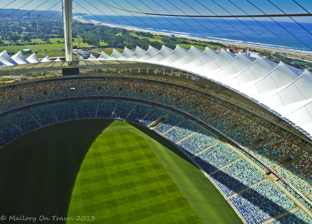 The Moses Mabhida Stadium in Durban Kwazulu-Natal, South Africa  on Mallory on Travel adventure, adventure travel, photography Iain Mallory-300-14-1_mahibas_stadium