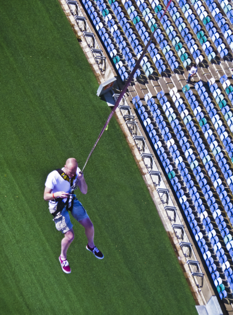 Bungee swinging in from the Moses Mabhida Stadium in Durban Kwazulu-Natal, South Africa  on Mallory on Travel adventure, adventure travel, photography Iain Mallory-300-19-1_bungee_jump