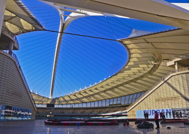 The Moses Mabhida Stadium in Durban Kwazulu-Natal, South Africa  on Mallory on Travel adventure, adventure travel, photography Iain Mallory-300-24-1_mabhida_stadium