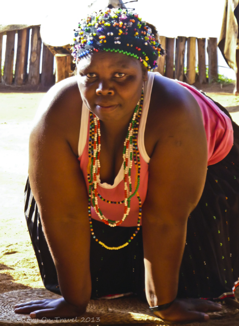 Zulu woman in the KwaZulu-Natal region of South Africa on Mallory on Travel adventure, adventure travel, photography Iain Mallory-300-30-1_zulu_woman