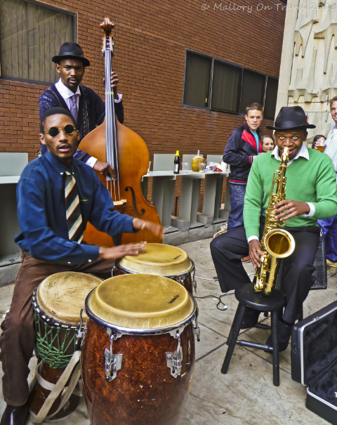 Live music at the Neighbourgoods Market in Johannesburg in South Africa on Mallory on Travel adventure, adventure travel, photography Iain Mallory-300-32_jazz_musicians