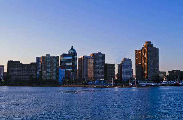 Skyline of Durban in the KwaZulu-Natal, South Africa on Mallory on Travel adventure, adventure travel, photography Iain Mallory-300-4-1
