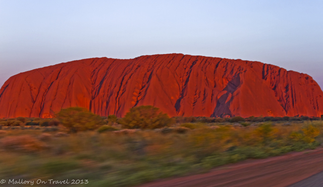 A Harley-Davidson motorcycle tour around Uluru in the Northern Territory, Australia on Mallory on Travel adventure, adventure travel, photography Iain Mallory-300-63_uluru