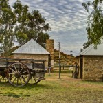 In the Outback; Telegraph Stations and Wallabies