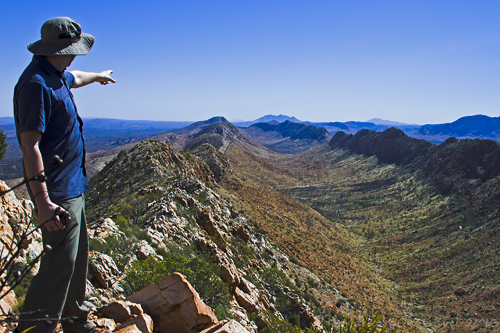 The Larapinta Trail in the west MacDonnell Ranges of the Northern Territory, Australia on Mallory on Travel adventure, adventure travel, photography Iain Mallory-300-13_larapinta_trail