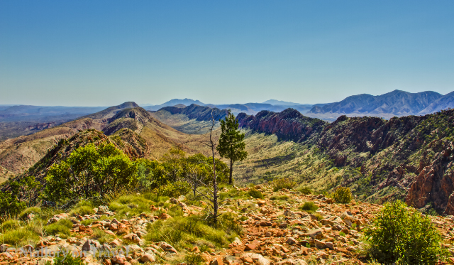 The Larapinta Trail in the west MacDonnell Ranges of the Northern Territory, Australia on Mallory on Travel adventure, adventure travel, photography