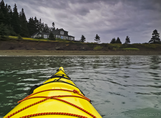 Explore by sea kayak the coast of Grand Manan in New Brunswick, Canada on Mallory on Travel adventure, adventure travel, photography