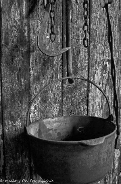 Digital photography; A smokehouse pot at Seal Cove on Grand Manan in New Brunswick, Canada on Mallory on Travel adventure, adventure travel, photography Iain Mallory-300-33BW_smokehouse_pot