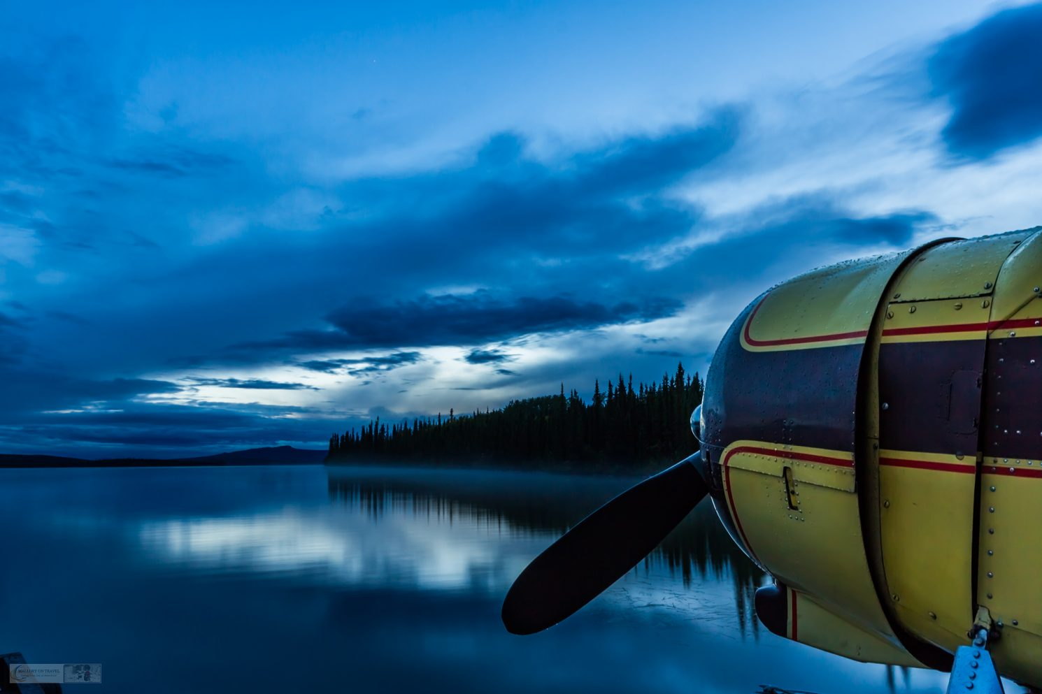 Float plane in the remote wilderness of the North west Territories of The Yukon, Canada on Mallory on Travel adventure, adventure travel, photography Iain Mallory_Yukon 006