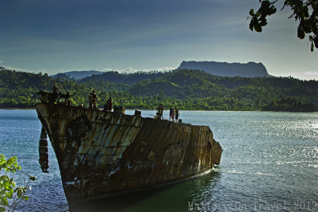 Thanksgiving; Dramatic shipwreck in the harbour of Baracoa on the Caribbean island of Cuba on Mallory on Travel adventure, adventure travel, photography Iain Mallory-300-206_baracoa_cuba