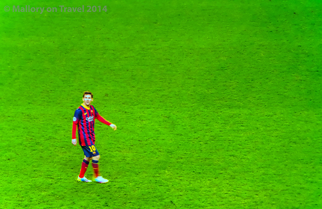 Lionel Messi of FC Barcelona at the Etihad Stadium, Manchester on Mallory on Travel adventure, adventure travel, photography  Iain Mallory-300-9 lionel_messi