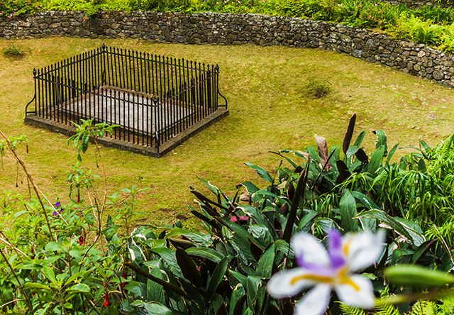 Napoleon's Tomb in Geranium Valley, on St Helena, South Atlantic on Mallory on Travel adventure, adventure travel, photography Iain Mallory-300-33 napoleons_tomb