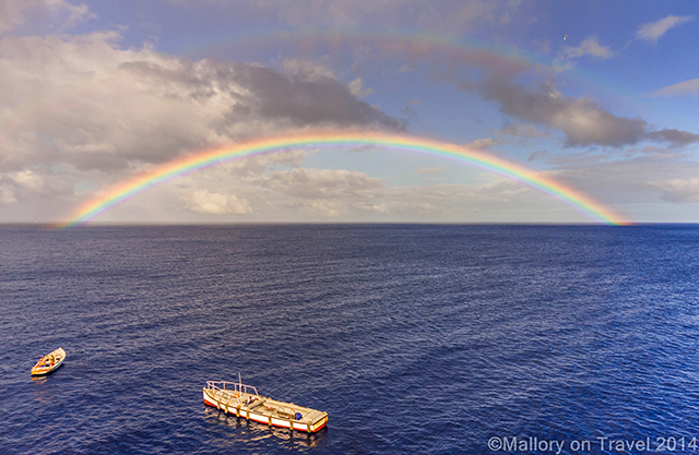 A South Atlantic rainbow on the remote island of St Helena on Mallory on Travel adventure, adventure travel, photography Iain Mallory-300-4 south_atlantic