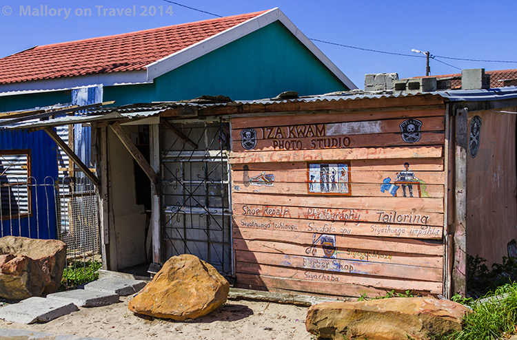 A photography studio in the township of Masiphumelele near Cape Town, South Africa on Mallory on Travel adventure, adventure travel, photography Iain Mallory-300-19 masiphumelele_township