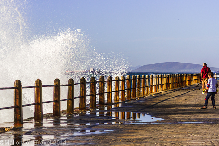 Cape Town photography; crashing waves of the Atlantic Ocean, Sea Point, Cape Town in South Africa on Mallory on Travel adventure, adventure travel, photography Iain Mallory-300-112 seapoint
