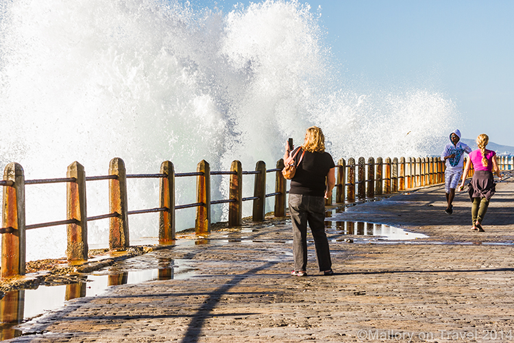 Cape Town photography; crashing waves of the Atlantic Ocean, Sea Point, Cape Town in South Africa on Mallory on Travel adventure, adventure travel, photography Iain Mallory-300-131 crashing_waves