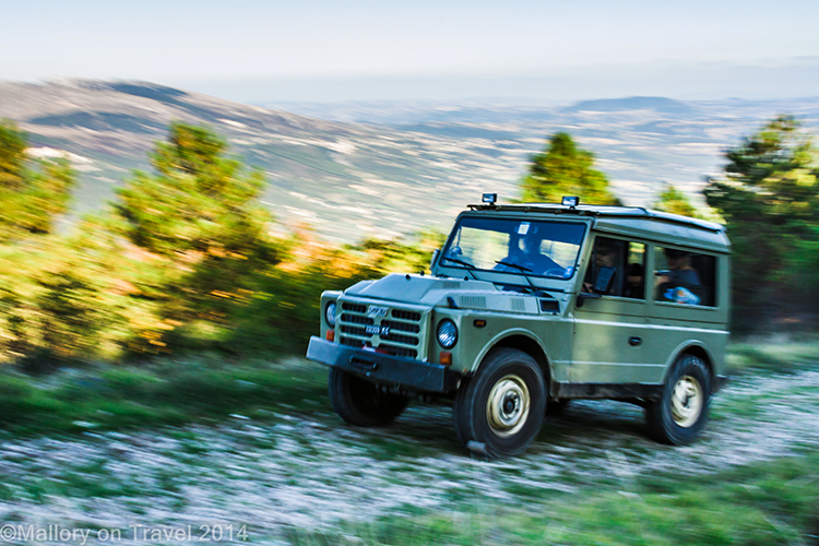 Off road tour in Molise, Italy, riding Fiat Campagnolos in the mountains near Isernia on Mallory on Travel adventure, adventure travel, photography Iain Mallory-300-2 offroading_molise