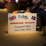 Flight of the Valkyrie; The Inaugural Flybe Birmingham to Reykjavik Flight
