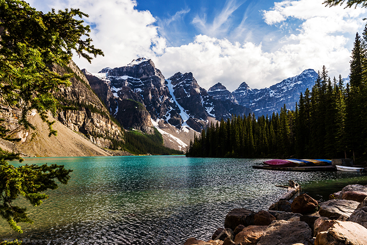 Moraine Lake in the Canadian Rockies of the Banff National Park, Alberta, Canada on Mallory on Travel adventure, adventure travel, photography Iain Mallory-249 moraine_lake