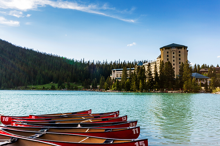 Fairmont Chateau Lake Louise in the Banff National Park, Canadian Rockies, Alberta, Canada on Mallory on Travel adventure, adventure travel, photography Iain Mallory-286 lake_louise