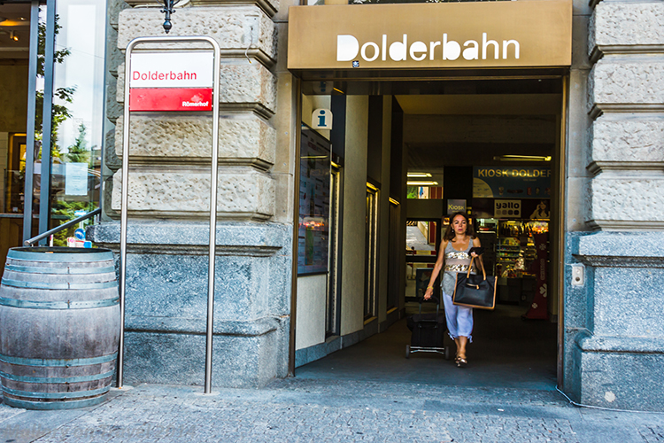 Entrance to the Zurich Dolderbahn, cogwheel railway in the Swiss city on Mallory on Travel adventure, adventure travel, photographyIain Mallory-300-8 dolderbahn_zurich