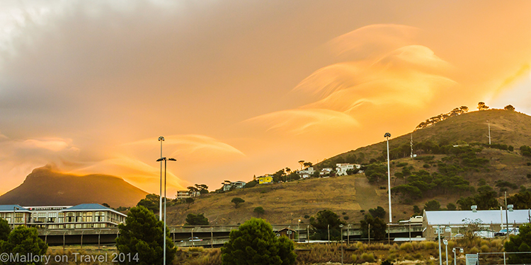 Amazing clouds at sunset in Cape Town, South Africa on Mallory on Travel adventure, adventure travel, photography Iain Mallory-300-22 cape_town