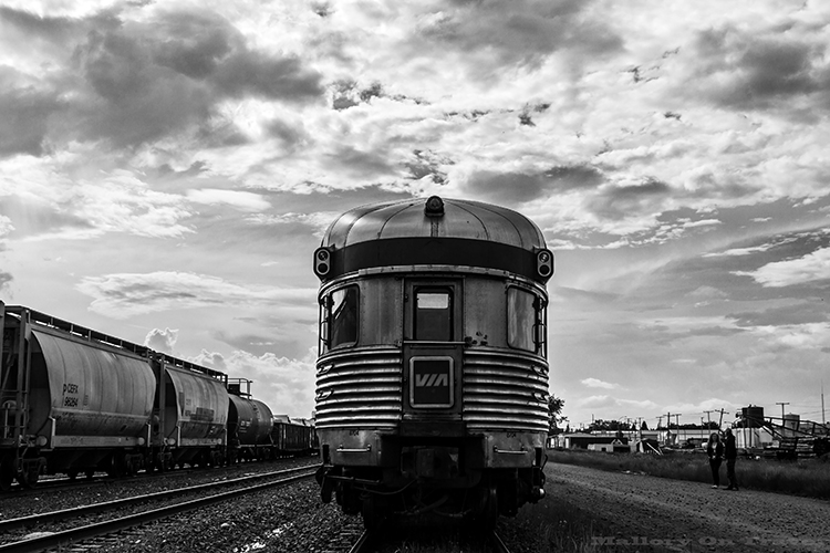 "The Via Rail ""Canadian"" which traverses Canada coast to coast on Mallory on Travel adventure, adventure travel, photography Iain Mallory-9 the_canadian"