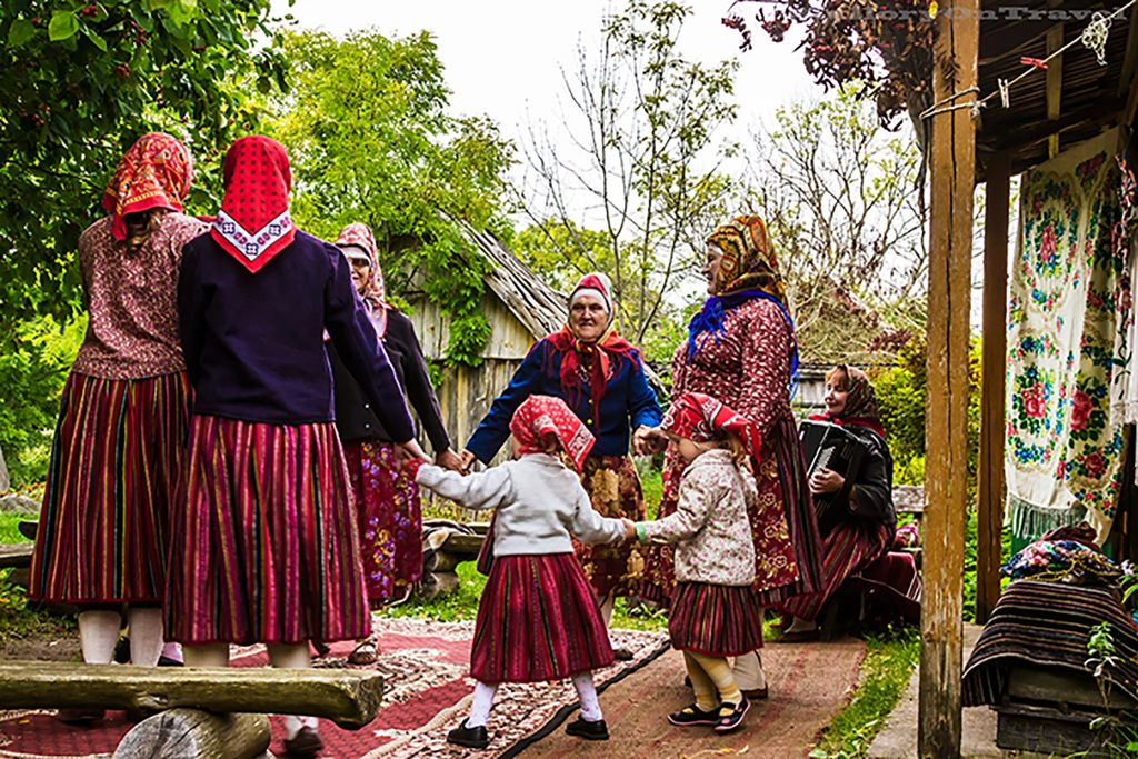 Kihnu women singing, and dancing on the Estonian island in the Gulf of Riga on Mallory on Travel adventure, adventure travel, photography Iain_Mallory_1402856 kihnu_women