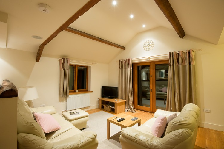 Living area in a Hall Hills cottages near Dalston in the north of Cumbria, the English Lake District, part of the Premier Cottages portfolio on Mallory on Travel adventure, adventure travel, photography AJB_1097