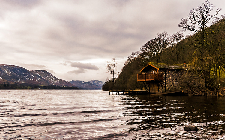 The boathouse at Pooley Bridge, Ullswater in the English Lake District, Cumbria on Mallory on Travel adventure, adventure travel, photography Iain_Mallory_Lakes1407963 pooley_bridge