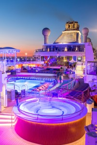 Royal Caribbean introduces its newest and most technologically advanced cruise ship Anthem of the Seas on Mallory on Travel adventure, adventure travel, photography