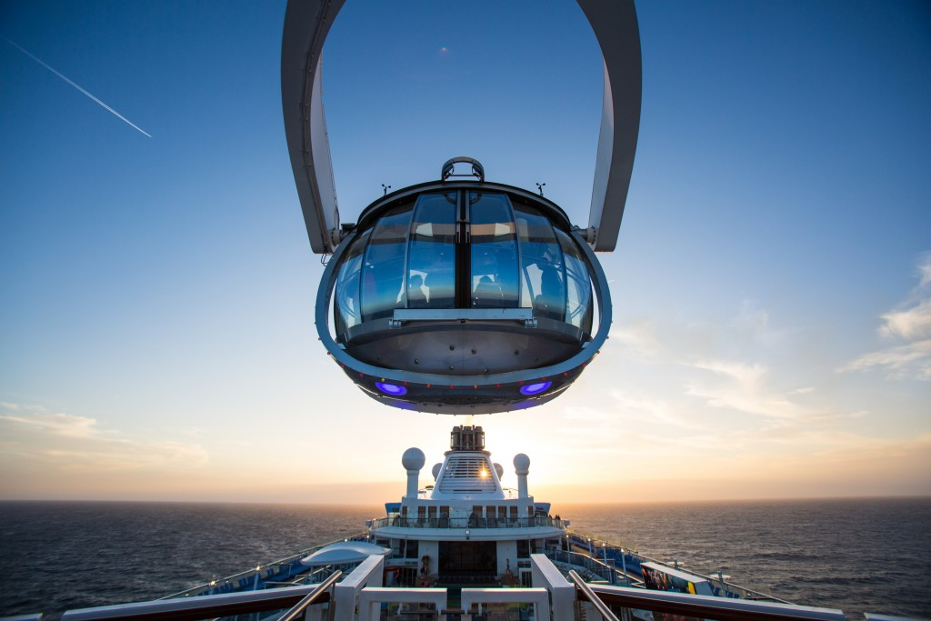 Royal Caribbean International launches Anthem of the Seas, the newest ship in the fleet, in April 2015 out of Southampton Mallory on Travel adventure, adventure travel, photography