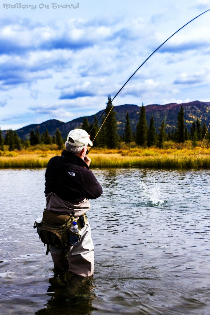 Fly fisherman from Inconnu Lodge in the North West Territories of The Yukon in the Canadian wilderness on Mallory on Travel adventure travel, photography, travel Iain Mallory-Yukon_2061