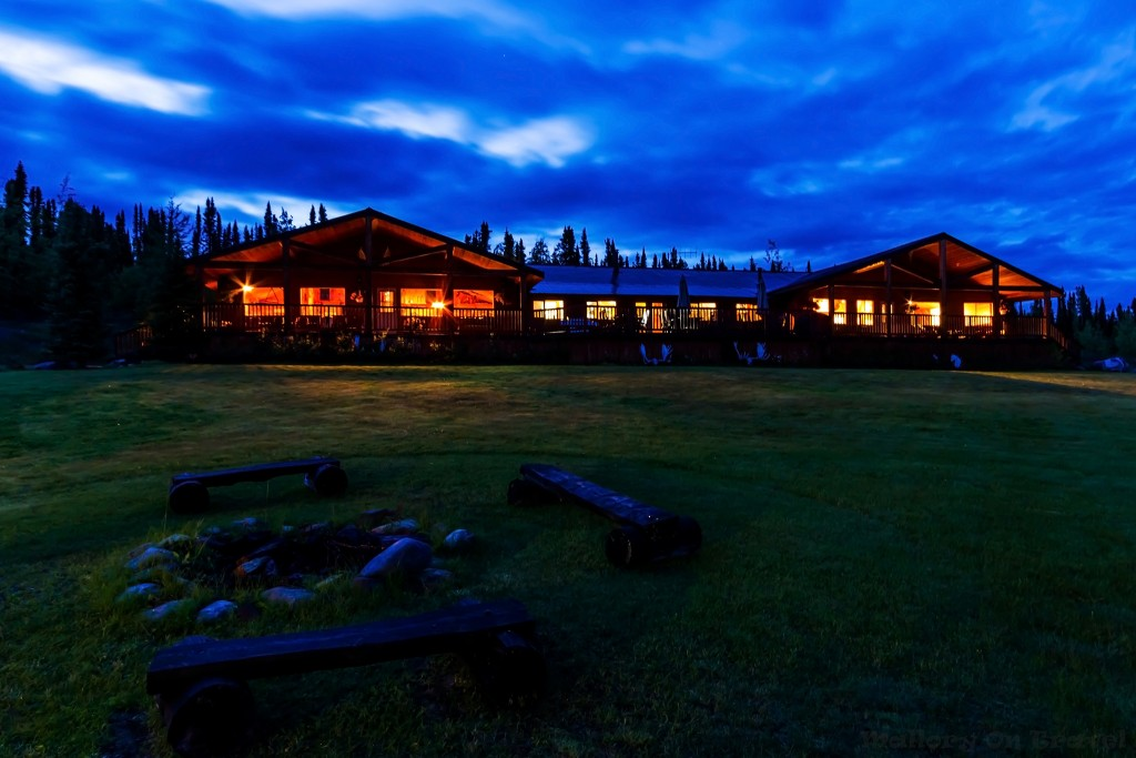 Twilight at Inconnu Lodge in the Canadian wilderness of the North-West Territories, The Yukon on Mallory on Travel adventure travel, photography, travel Iain Mallory-Yukon_2083