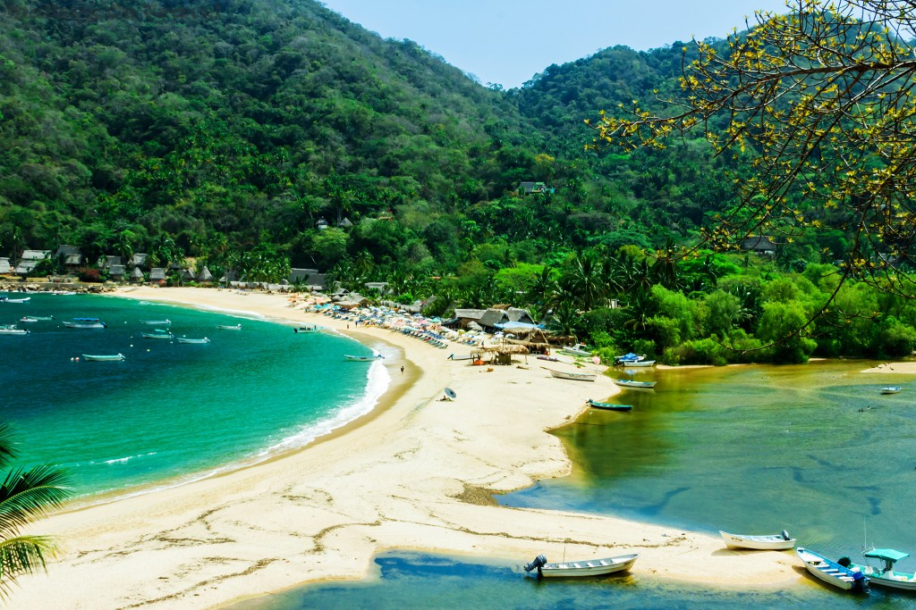 Quimixto Beach and lagoon, Jalisco in Puerto Vallarta on the Pacific Coast of Mexico on Mallory on Travel adventure travel, photography, travel Iain_Mallory_Mex1411676