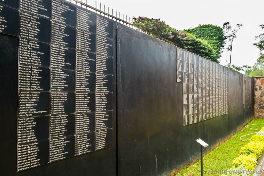 Memorial stones at the Kigali Genocide Memorial Centre in the capital city of Rwanda in east Africa on Mallory on Travel adventure travel, photography, travel Iain_Mallory_Rwanda-2708