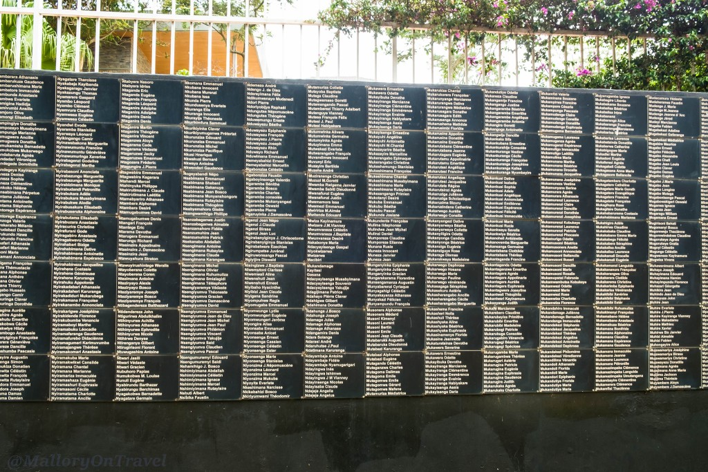 Memorial stones at the Kigali Genocide Memorial Centre in the capital city of Rwanda in east Africa on Mallory on Travel adventure travel, photography, travel Iain_Mallory_Rwanda-2709