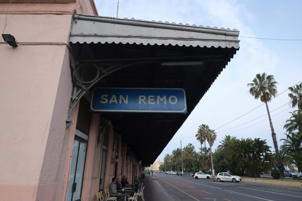 San Remo train station, now the starting point for the San Remo Bike Trail Liguria, Italy on Mallory on Travel adventure travel, photography, travel Liguria 2015-44