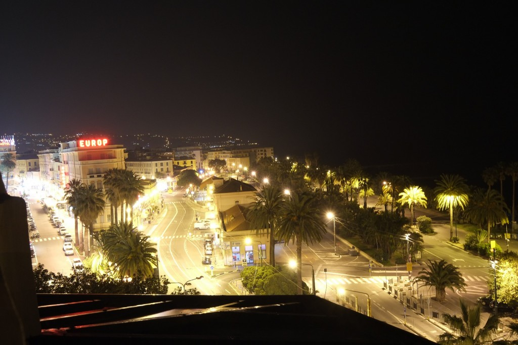 Well lit seafront of San Remo, Liguria in Italy on Mallory on Travel adventure travel, photography, travel Liguria 2015-55