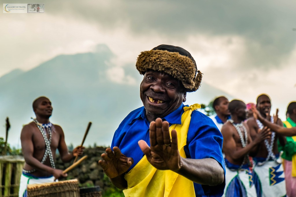 Performer at Iby'Iwacu cultural village in Volcano National Park in Rwanda, east Africa on Mallory on Travel adventure travel, photography, travel Iain_Mallory_Rwanda-2020